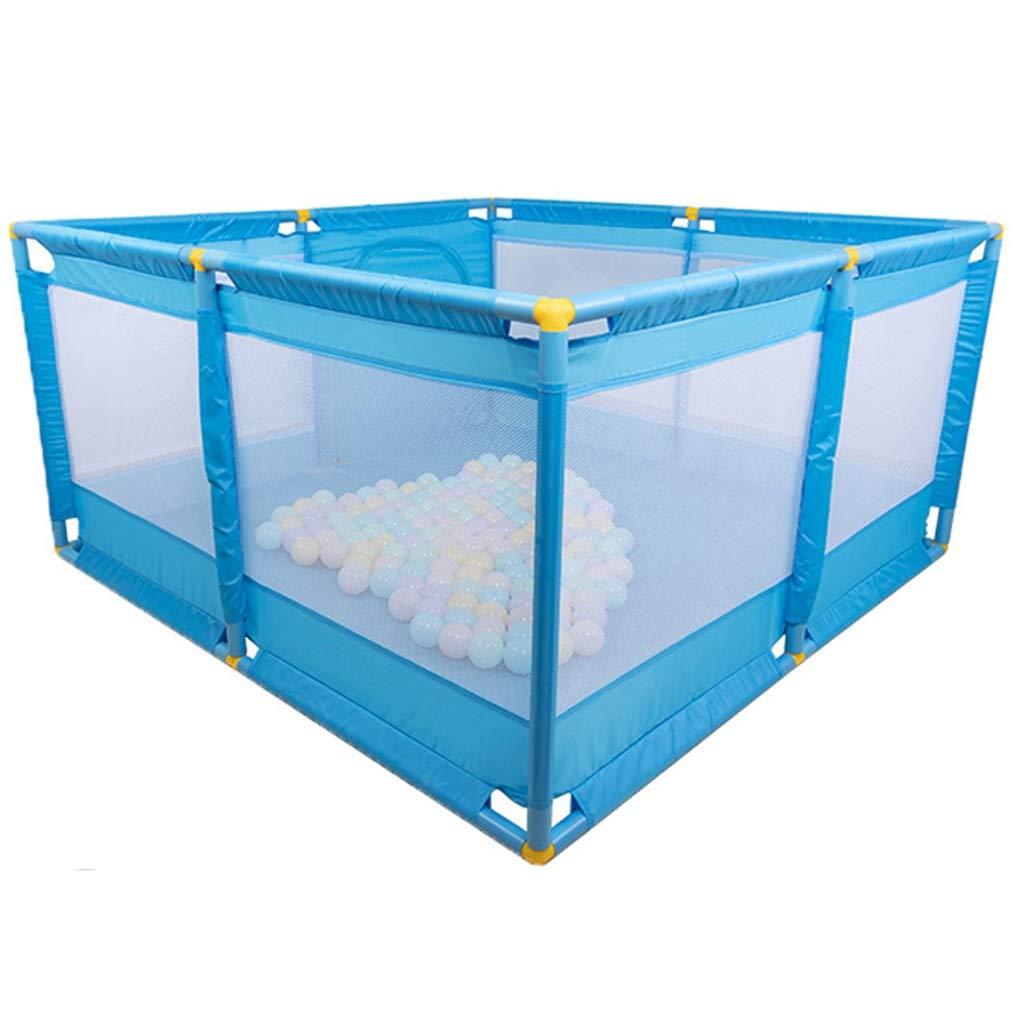 格安SALEスタート! 子供のためのボールピットプレイテント - - 子供の幼児や赤ちゃんのための赤ちゃんのためのベビーサークル - プラスチックボール(ボールは含まれていません)で満たすか -、屋内/屋外プレイテントブルーとして使用 B07QXKB1JR B07QXKB1JR, 下館市:9648201b --- a0267596.xsph.ru