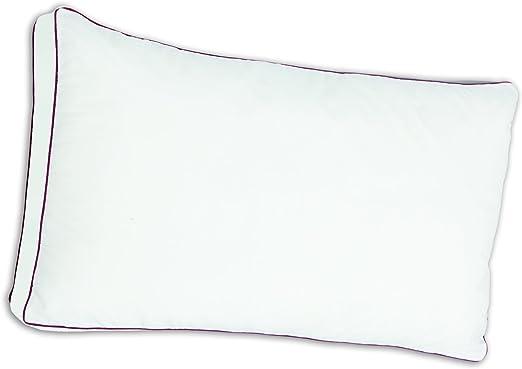 Belnou Microfiber Almohada con Tacto Microfibra, Algodón, Blanco ...