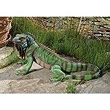 Design Toscano NE867207 Giant Iggy the Iguana Reptile Statue
