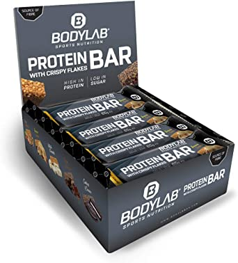 Bodylab24 Barritas Proteicas 12 x 65g | Barrita de proteínas ...
