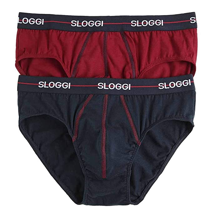 a4d3b7f60 Sloggi Men Start Midi Slip Uomo  Amazon.it  Abbigliamento