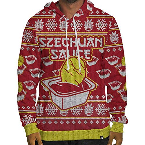 Beloved Shirts Szechuan Sauce Ugly Sweater Hoodie