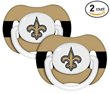Amazon.com: New Orleans Saints Chupete (2 unidades): Sports ...
