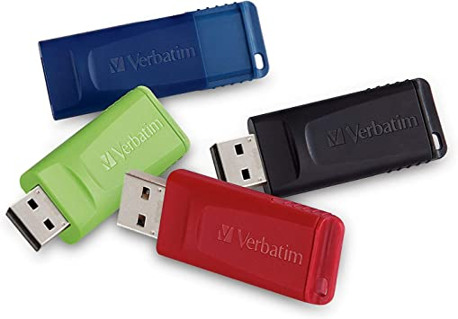 Verbatim 64GB Store n Go USB Flash Drive Red Mac Compatible PC