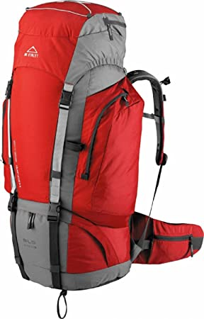 McKinley Kenai - Mochila para senderismo (55+10 l), color rojo y gris: Amazon.es: Deportes y aire libre