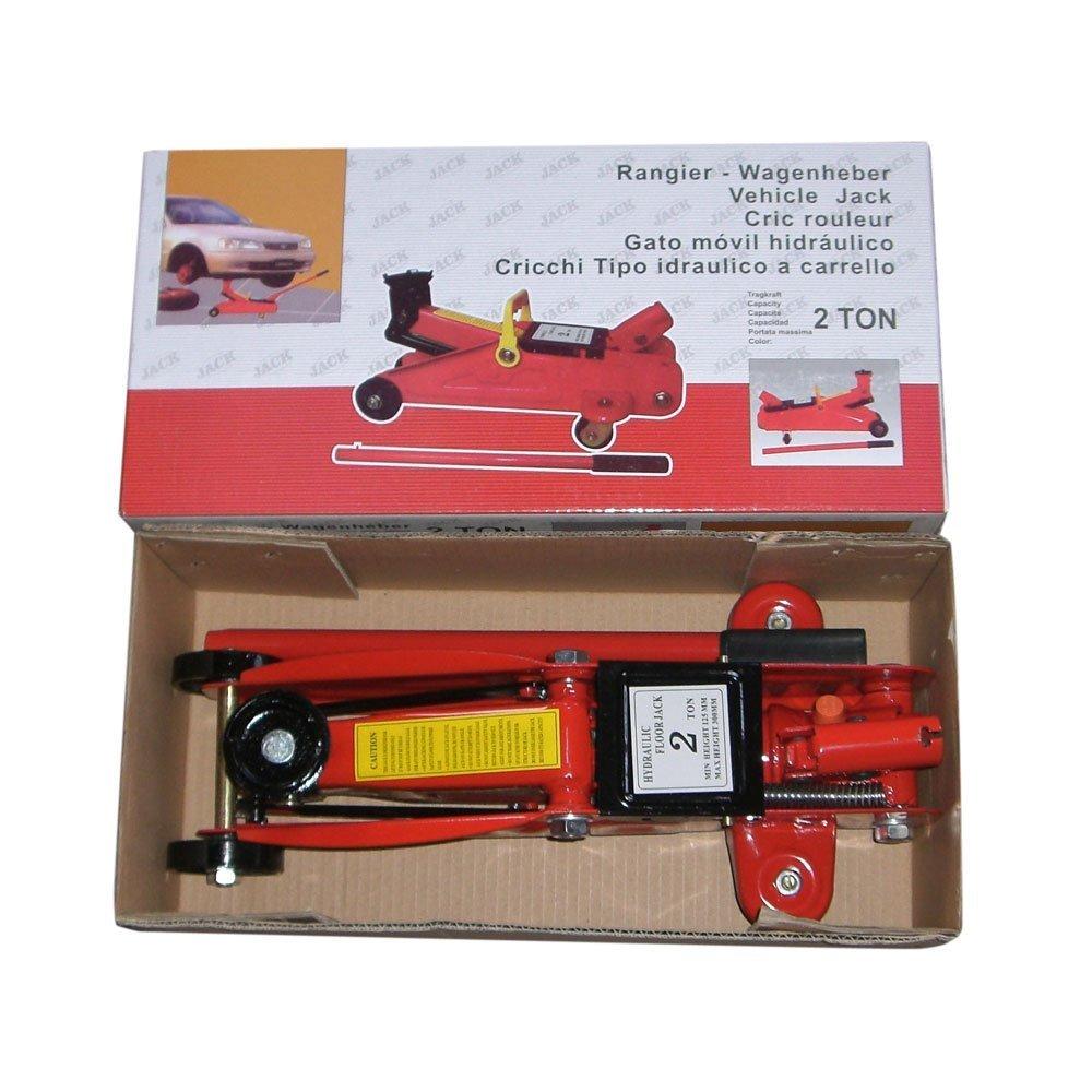 2 Ton 4000 LbS Mini Hydraulic Trolley Floor Jack Low Profile Auto Garage Shop Vehicle Car Lift