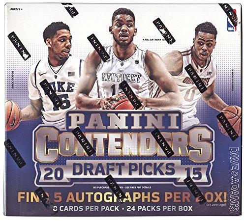 2015/16 Panini Contenders Draft Picks NBA Basketball HOBBY box (24 (Nba Hobby Box)