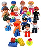 Best Toys Compatible With LEGOs - Community Figures Set Lego Duplo Compatible 16 Pieces Review