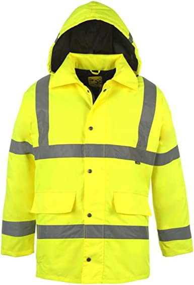 Dunlop Hi Vis Vest Yellow Extra Lge