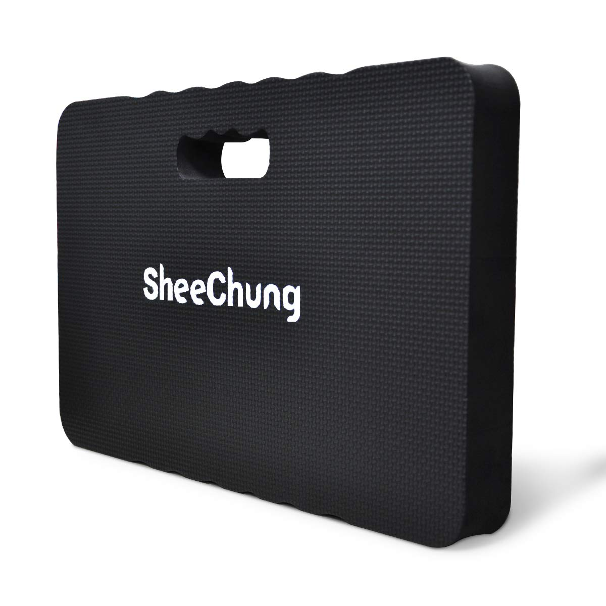 "SheeChung Extra Thick Kneeling Mat - Foam Garden Kneeling Pad Gardening,Mechanics Knee Pads Work,Bath Kneeler Baby Bath, Kneeling Pad Exercise & Yoga,Extra Large(XL) 18x11, THICKEST 1-½"" (Black)"