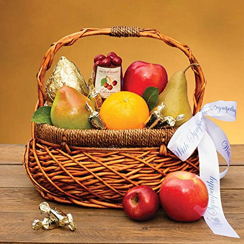 Thoughtful Sympathy Fruit Basket - The Fruit Company