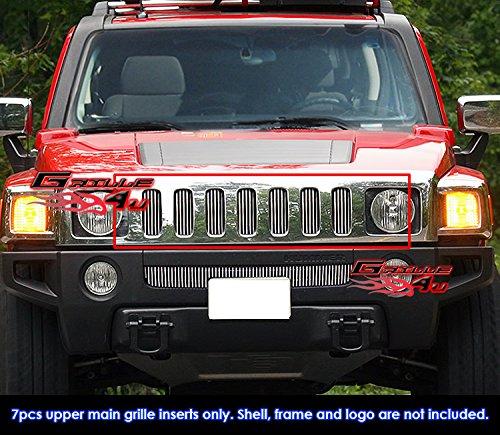 For 06-10 Hummer H3 Billet Grille Insert ()