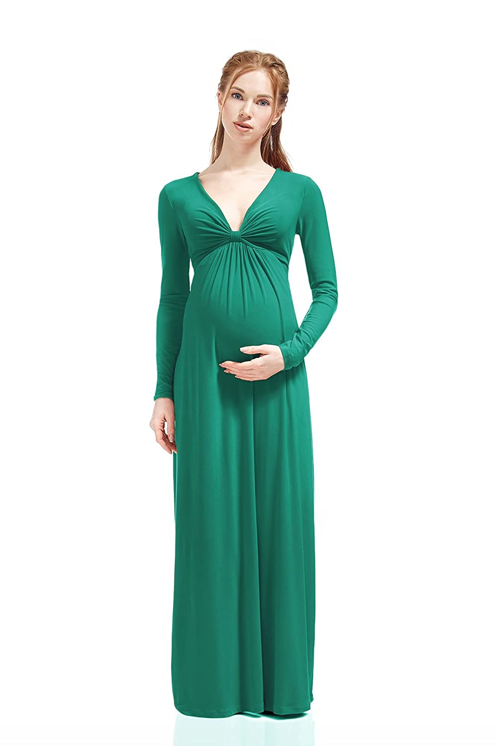 Nothing But Love Maternity and Nursing Dress Francesca Knot Front ...