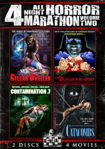 Scream Factory All Night Horror Marathon, Vol. 2 (Cellar Dweller, Catacombs, The Dungeonmaster & Contamination (Horror Master)