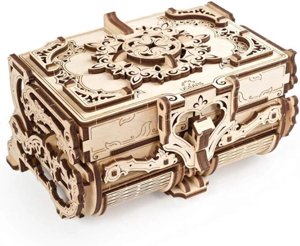 UGEARS mechanisches Pferd 3D Holz Bausatz Puzzle Modellbausatz 70054