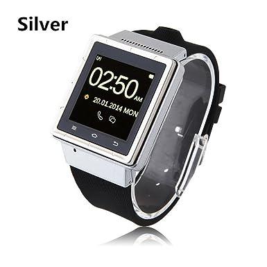 Smartphone 3 G Teléfono Android 4.0 SmartWatch Reloj Inteligente ZGPAX S6 1.54 pulgadas con MTK6577 Dual