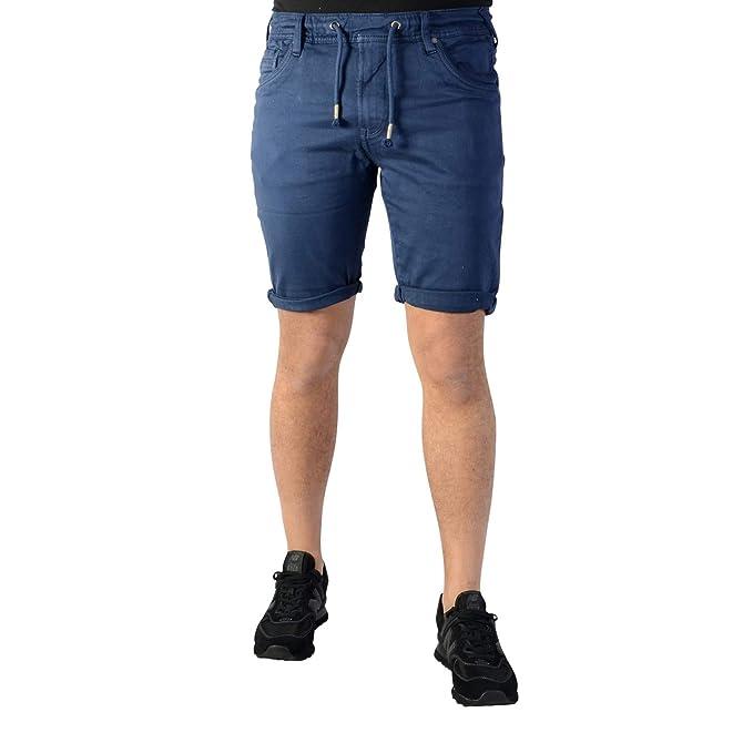 HombreAmazon Accesorios Azul Bermuda Jagger Y esRopa Pepe Jeans W2E9YIeDH