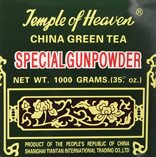 China Green Tea Special Gunpowder 1 Kilo (1000grams or 35.27 Oz) Guaranteed - Loose Green Leaf
