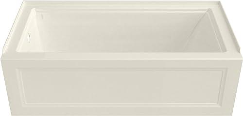 American Standard 2545202.222 Town Square S 60″x30″ Bathtub-Left Drain