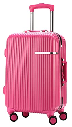 Amazon.com | Ambassador Luggage Aluminum Frame 19 Inch Carry On ...