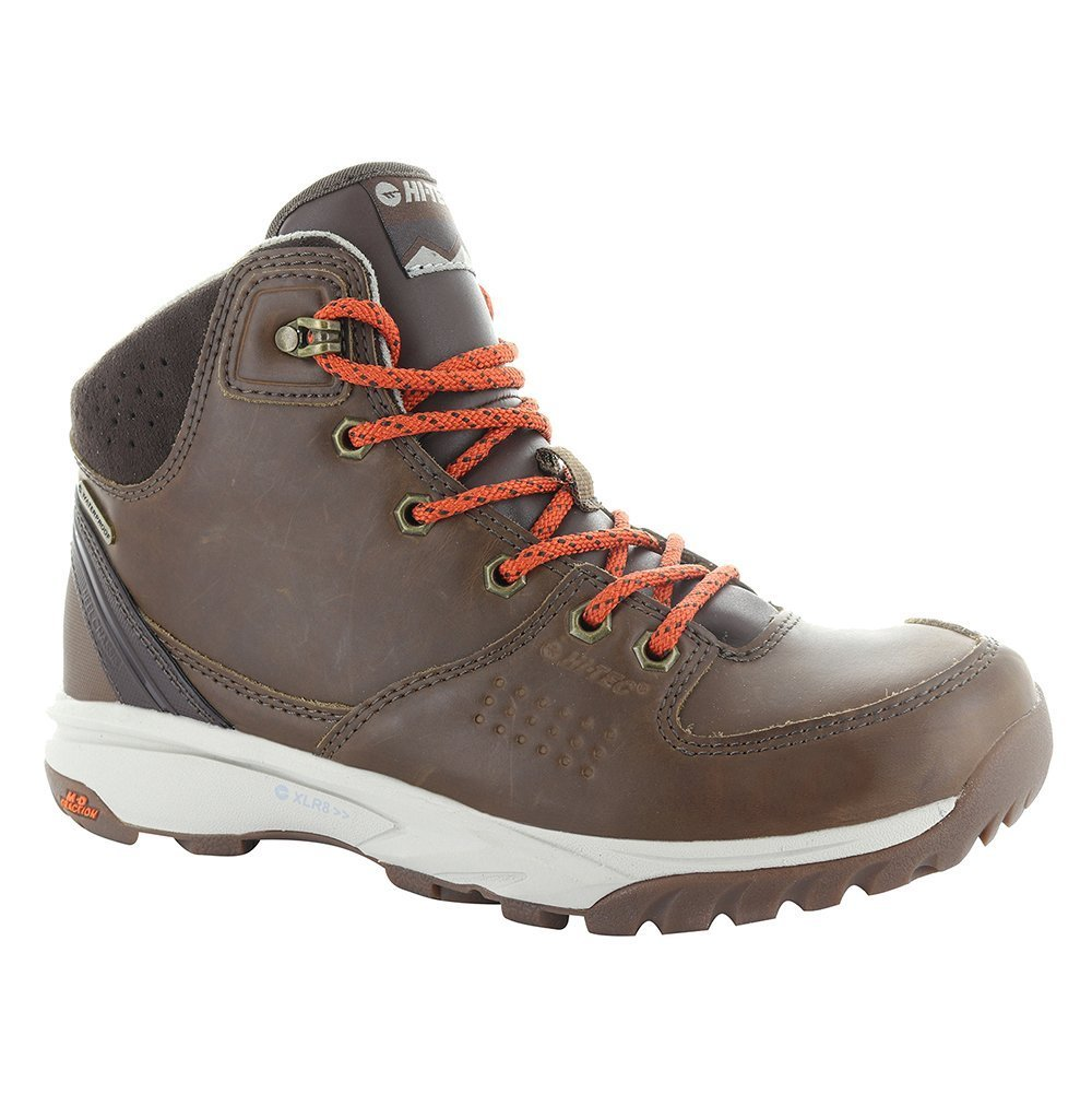 Hi-Tec Women's V-Lite Wildlife Lux Mid I Waterproof Backpacking Boot B01MXV5MLO 5 B(M) US|Brown