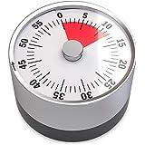Balvi-MinuteurmécaniqueetmagnétiqueBasics.Maximum60minutes.Alarmesonorelorsqueletempsestatteint.Letempschoisiourestantsematerialiseavecunesfèrerouge.Idéalpourlacuisine