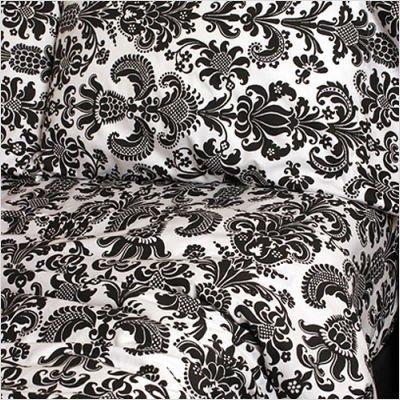 Sin in Linen Wallflower Sheet Set, Full