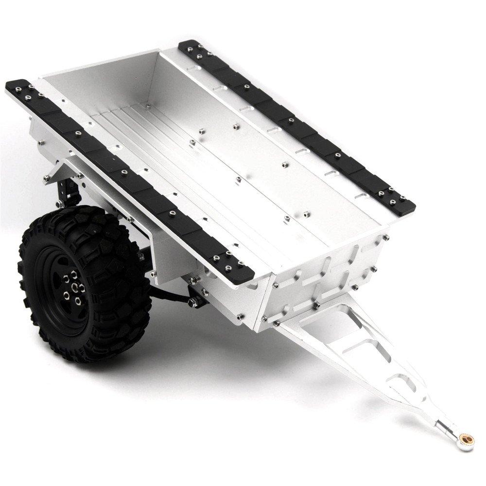 ZuoLan 1 10 RC Crawler voiture 1 10 Feuille Printemps aluminium attelage de remorque avec Roues