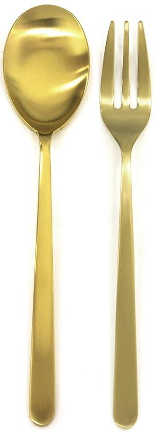 Mepra 108144110 - Juego de cubertería, color dorado