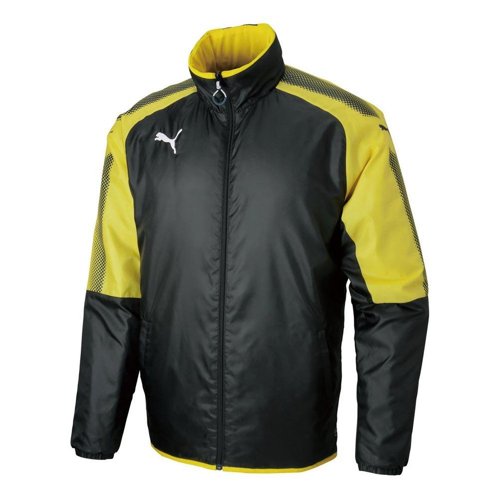 (プーマ) PUMA サッカーウェア ASCENSION パデッド ジャケット 655470 [メンズ] B077QD3MMR Medium 02ブラック×イエロー 02ブラック×イエロー Medium