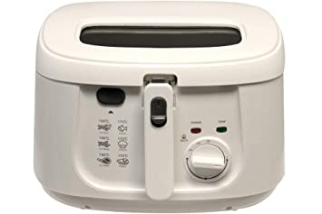Freidora Cook 4 u 1800 W 2,5 litros fritura Color Blanco: Amazon.es ...