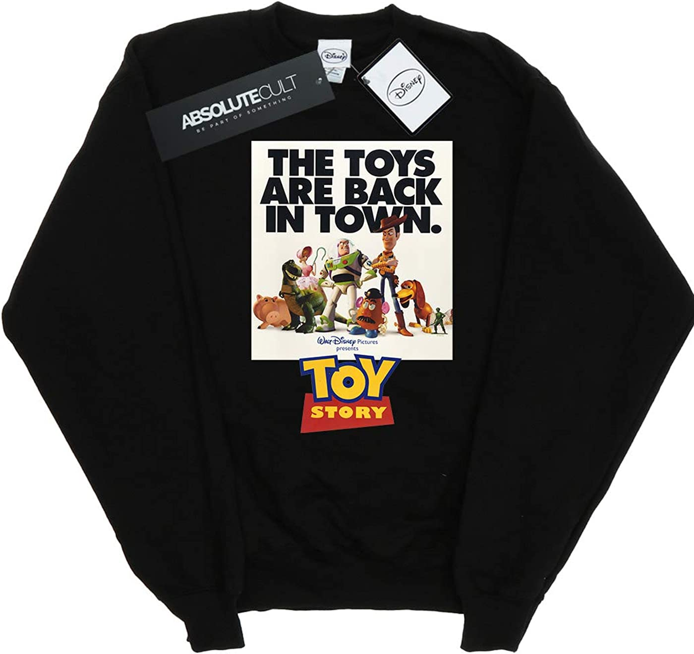 Disney Girls Toy Story Movie Poster Sweatshirt