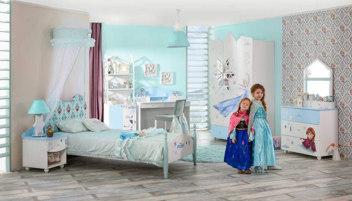 Hervorragend Alfemo Eiskönigin: Anna und ELSA Kinderzimmer-Set, 3-TLG. Matratze EQ73
