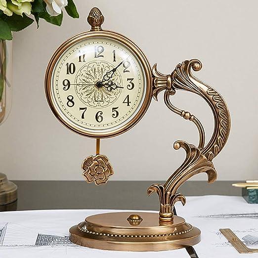 NHX Mantle Relojes para Salón Vintage Relojes de Escritorio Retro ...