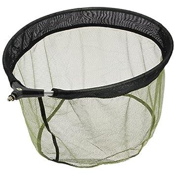 50x 40x 25cm 50x 40x 25cm FNH-NET-MATCH-DLX NGT Unisexe Deluxe Match Poêle datterrissage Souple en Maille Filet de pêche à la Carpe Vert
