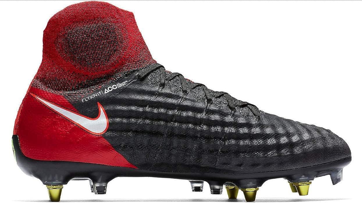 Divertidísimo excitación vaso  Amazon.com: Nike Magista Obra II SG-Pro AC (Negro/Blanco/Crimson) Anti-Clog  Soft Ground - Zapatillas de fútbol para hombre (8 US): Shoes
