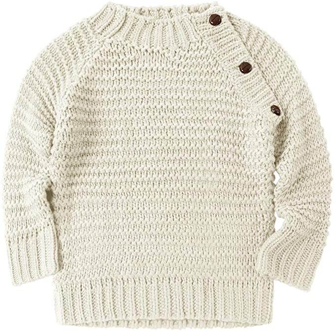 M/&A Toddler Baby Girls Boys Christmas Sweater Knitted Long Sleeve Pullover