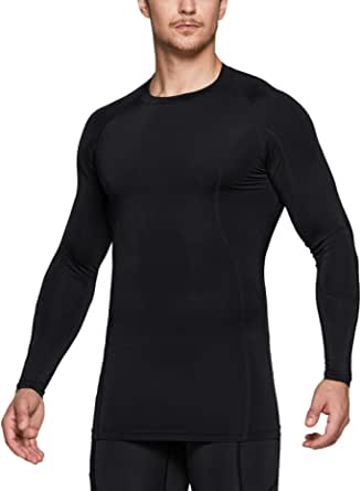 Athletic Exercise Gym Yoga Shirts TSLA 1 or 3 Pack Womens Sports Compression Shirt Cool Dry Fit Long Sleeve Workout Tops