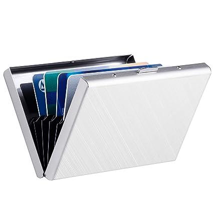 Maxgear Soporte de tarjeta RFID - Acero inoxidable - Funda ...
