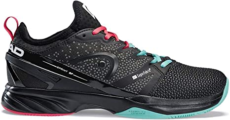 Head Sprint SF Clay Court Shoe Men Black: Amazon.es: Deportes y ...