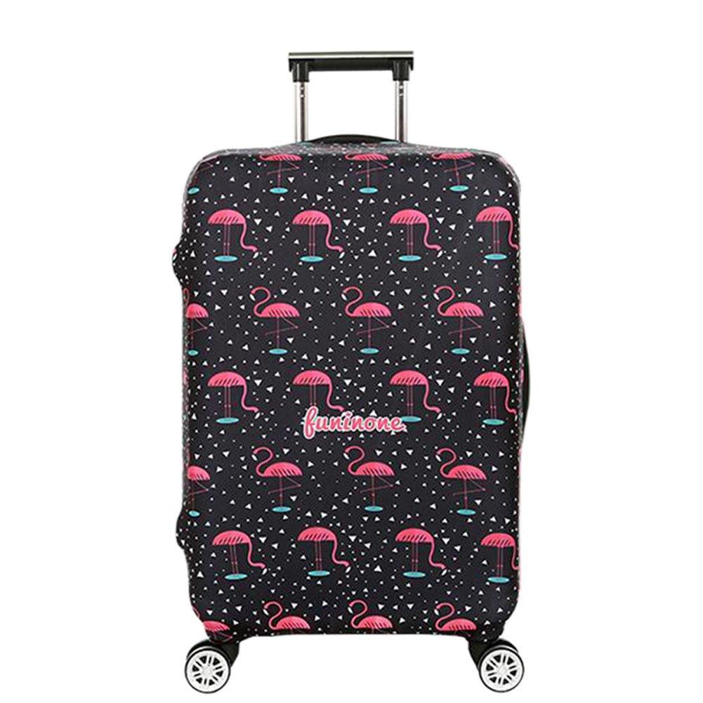 """Hzjundasi Lavable Imprimé Bagage Couverture Spandex Valise Protecteur Zipper Sachet pour 18""""-32"""" Baggage"""