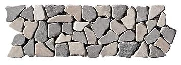 Fliesen Lager Verkauf Stein-mosaik Herne NRW Naturstein-Bad BO-339 Marmor Mosaikfliesen Bord/üre Bruchstein