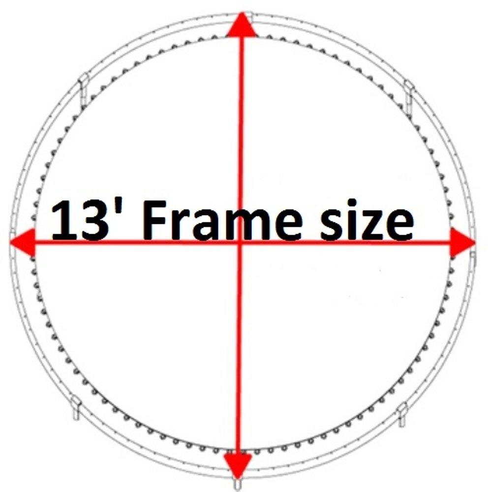 Amazon.com: Cama elástica parte Store® 13 -72- V-Rings ...
