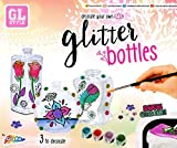 GL Style Decorate Your Own Glitter Bottles Arts & Craft Activity Set