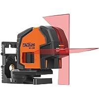 Niveau Laser Tacklife SC-L02 Classique/Laser Croix 20m Vertical Horizontal à 130°/ Verrouillabl/Haute Précision/Indication de Batterie Faible/Support Magnétique