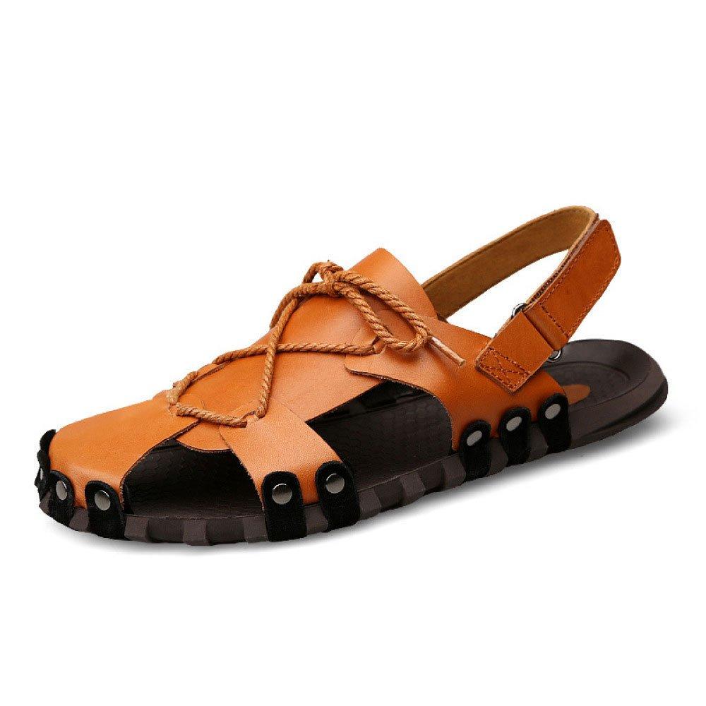 Sandalias para Hombre Sandalias Sandalias Sandalias De Uso Doble 40 EU|Brown