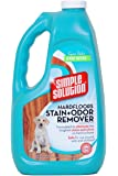 Simple Solution - Hardfloors Stain + Odor Remover, 64-Ounce Refill