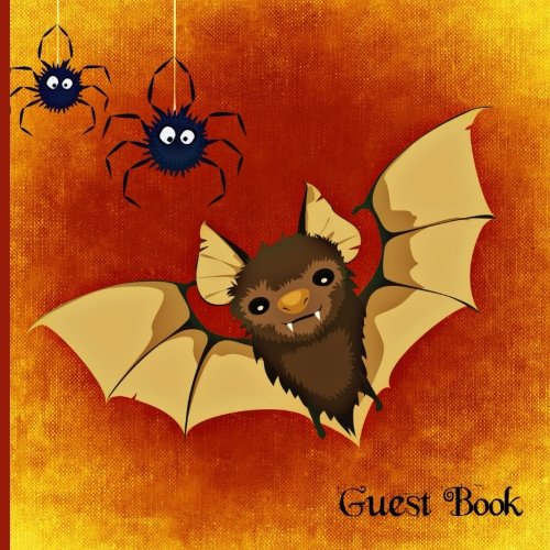 Guest Book: Rats and Spiders Halloween Party Guest Book, Scary Costume Party Guest Book, Gothic Party Guest Book, Guest Book for Halloween and ... Book (Guest Book Halloween Party) (Volume 1)