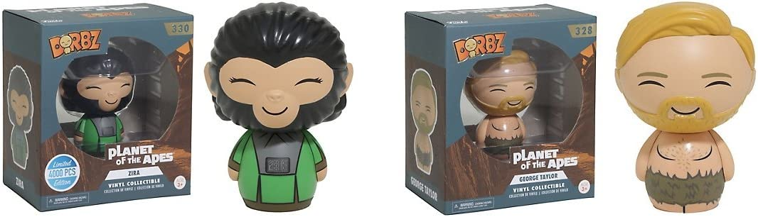 Planet of the Apes George Taylor Dorbz Vinyl Figure