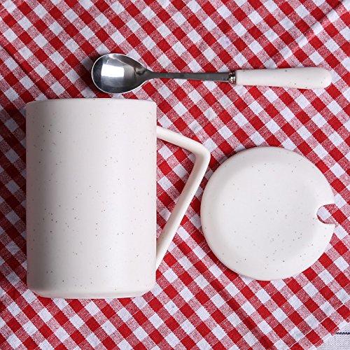 TBSB Simple Office Tazas, Vaso de Agua, Taza de cerámica Taza de café a Granel,Uno